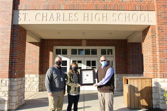 SCSD receives Landmarks Board award