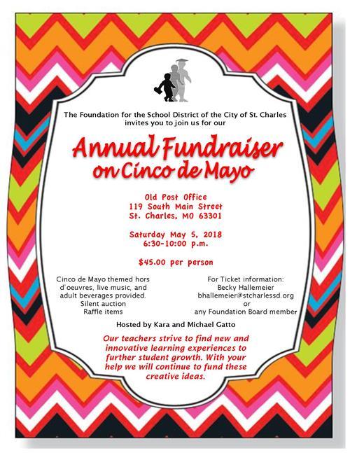 SCSD Foundation Fundraiser